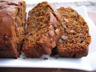 persimmon-date-bread