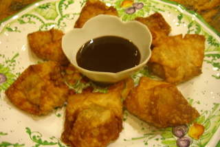 vegetarian-wonton