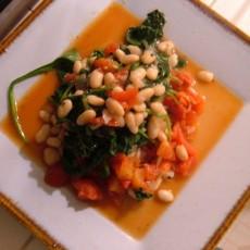 whitebean-spinach