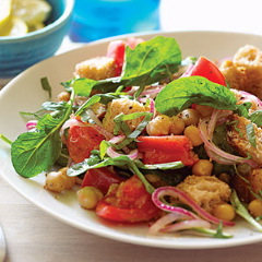 chickpea-panzanella