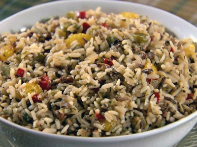 cranberry and rice salad