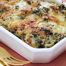 potato and spinach casserole