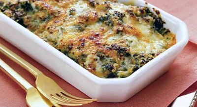potato and spinach casserole