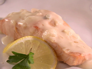 salmon-champagne-sauce