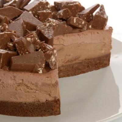 chocolate-truffle-cheesecake