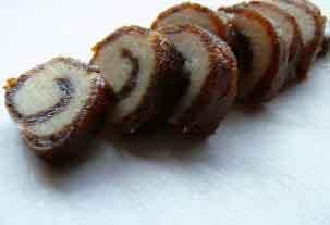 Chocolate pinwheel loaf