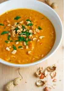 Squash And Peanut Butter Soup