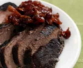 Sweet wine Brisket