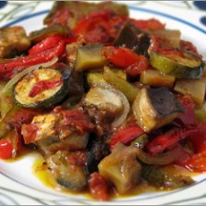 ratatouille-on-plate