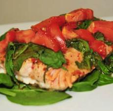 Baked Salmon 1