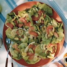 Kosher recipe: Grapefruit and Avocado Salad