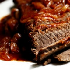 Kosher Brisket with Chilli Sauce