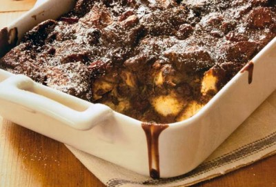 Kosher Recipe Chocolate Babka Bread Pudding