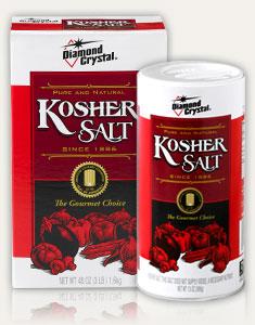 Why we love kosher salt gourmet kosher cooking for Why have a kosher kitchen