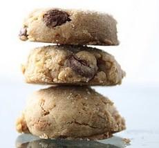 Kosher Dark Chocolate and Peanut Butter cookies