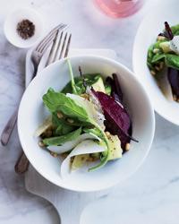 Beet::  Avocado and Arugula Salad