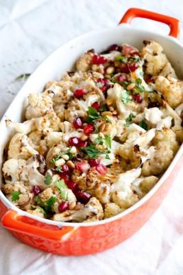Cauliflower-Tahini-Silan