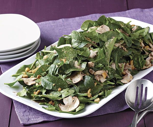spinach-mushroomsalad