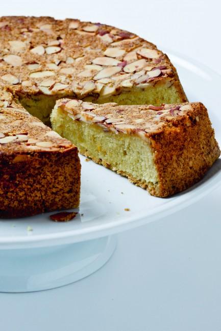 Almond Olive Cake