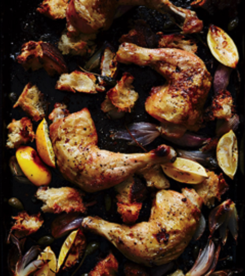 lemony-roasted-chicken