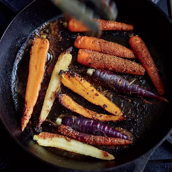 carrots-grill